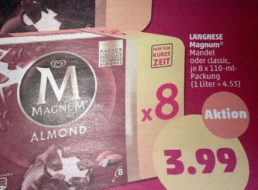 Penny: Achterpack Magnum für 3,99 Euro plus zehnfach Payback-Punkte