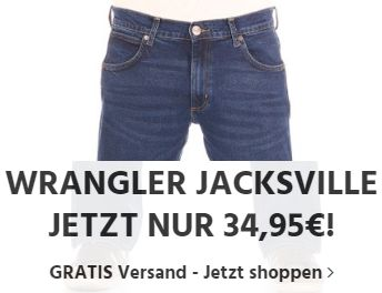 Wrangler: Jeans Jacksville für 34,95 Euro frei Haus