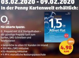 Penny: SIM-Karten zum halben Preis für eine Woche