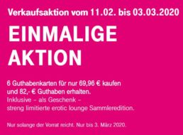 Telekom: Telefonkarte Comfort über 82 Euro für 69,96 Euro