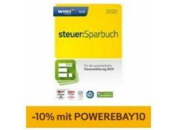 Ebay: Wiso steuer:Sparbuch 2020 mit zehn Prozent Rabatt für 19,80 Euro
