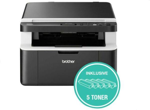 """Ebay: WLAN-Laserdrucker """"Brother DCP1612W"""" für 129,60 Euro"""