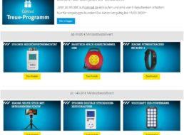 Conrad: Gratis-Beigaben und -Versand ab 99 Euro Warenwert