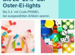 Ebay: 15-20 Prozent Rabatt auf Spielzeug und Co.