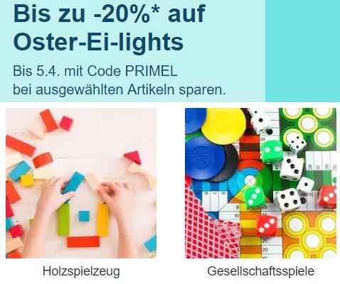 Ebay: 20 Prozent Rabatt auf Spielzeug und Co.