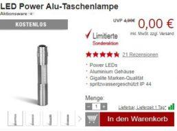 Druckerzubehoer.de: Gratis-Aktion mit elf Artikeln für 0 Euro