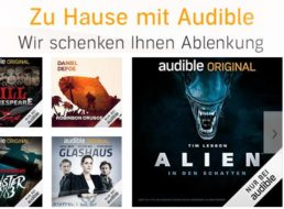 Audible: Gratis-Hörbücher mit über 19 Stunden Spielzeit auch ohne Abo