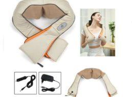 Ebay: Nackenmassagegerät mit Wärmefunktion für 22,49 Euro frei Haus