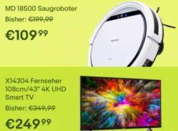Medion: Sale bei Ebay mit Preisabschlägen von bis zu 30 Prozent