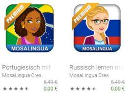 """Gratis: Lern-Apps von """"Mosa Lingua Premium"""" für kurze Zeit zum Nulltarif"""