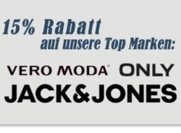 """Jeans Direct: Rabatt von 15 Prozent auf """"Jack & Jones"""" und andere"""
