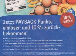 Rewe: 10 Prozent Rabatt in Form von Payback-Punkten