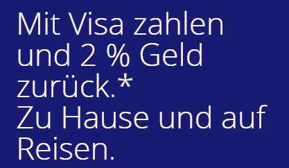visa geld zurück