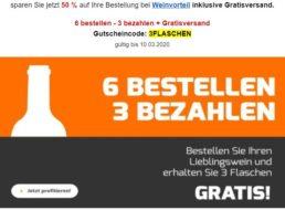 Weinvorteil: Sechserpaket goldprämierter Rotwein für unter 24 Euro frei Haus