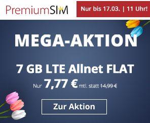 Winsim: 7 GByte LTE mit 50 MBit & Allnet-Flat für 7,77 Euro