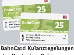 Gratis: Bahn-Gutschein über 10 – 50 Euro für BahnCard-Kunden
