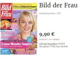 Bild der Frau: 26 Hefte zum Direktpreis von zusammen 9,90 Euro