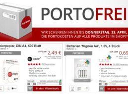 Druckerzubehoer.de: Gratis-Versand mit Kopierpapier zu Bestpreisen