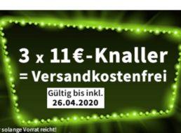 Völkner: Aktionsartikel für pauschal 11 Euro, Gratis-Versand ab 3 Produkten