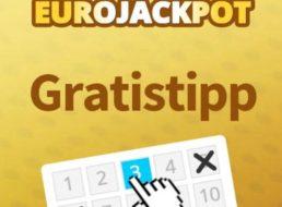 Euro-Rekord-Jackpot: Neukunden spielen drei Felder für zwei Euro