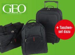 Geo: Drei Ausgaben inklusive Reisetaschenset für 17,90 Euro frei Haus