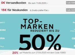 Otto: Gratis-Versand ab 10 Euro Warenwert, viermal nutzbar