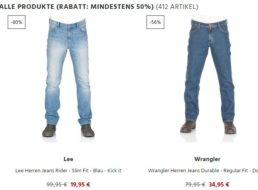 Jeans Direct: 400 Jeans, Hoodies und mehr mit über 50 Prozent Rabatt