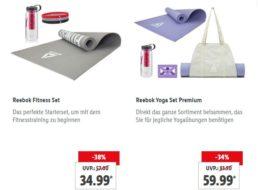 """Lidl: Fitness-Artikel im Rahmen der """"Shopping Week"""" mit Rabatt"""