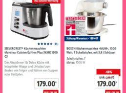 Lidl: Küchenmaschine und Mixer für einen Tag zu Aktionspreisen
