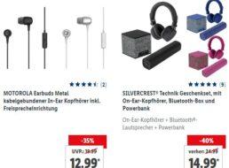Lidl: Powerbanks, Technik-Geschenksets und mehr zu Schnäppchenpreisen