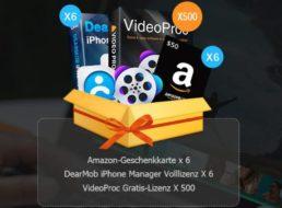 Gratis: Videoproc zum bearbeiten und konvertieren von 4K-Videos zum Nulltarif