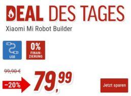 """Notebooksbilliger: """"Xiaomi Mi Robot Builder EU"""" aus 978 Teilen für 79,99 Euro"""