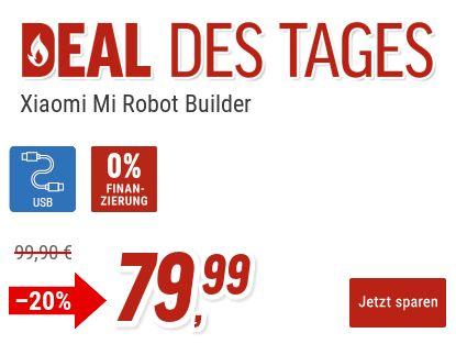 """Notebooksbilliger. """"Xiaomi Mi Robot Builder EU"""" aus 978 Teilen für 79,99 Euro"""