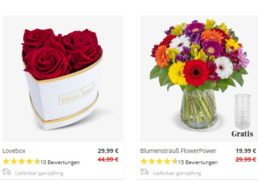 Muttertag: Fünf Schnäppchensträuße für unter 30 Euro bei Blumeideal