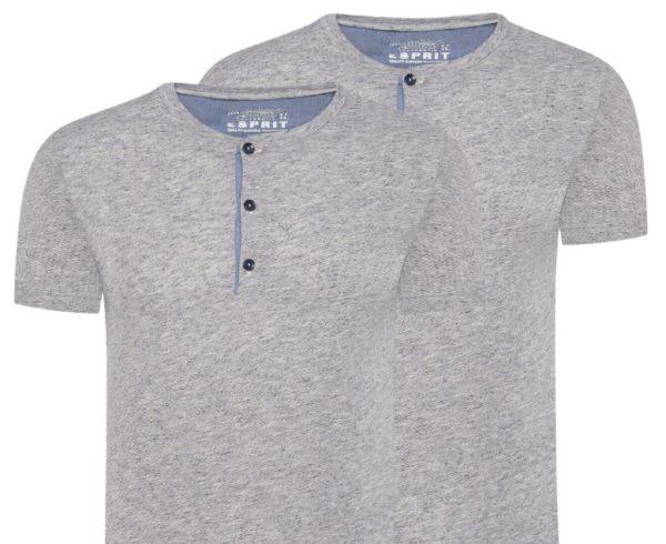 Esprit: T-Shirt mit Knopfleiste ab 8,95 Euro frei Haus