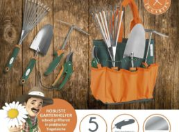 Ebay: Gartenwerkzeugset mit Tasche für 22,41 Euro frei Haus