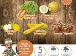 Ebay: 20-teiliges Gemüse-Anzuchtset für 14,99 Euro frei Haus