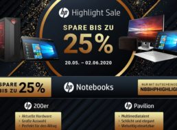 NBB: HP-Sale mit Rabatt von bis zu 25 Prozent