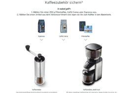 Tchibo: 10 Prozent Rabatt auf Kaffee-Zubehör beim Kaffeekauf