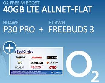 Bonus-Angebot: O2-Vertrag mit 40 GByte LTE für effektiv 5,20 Euro