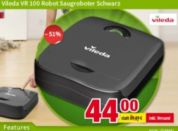 Völkner: Saugroboter Vileda VR 100 für 44 Euro frei Haus