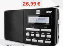 Völkner: DAB-Kofferradio mit UKW-Empfänger für 26,99 Euro frei Haus