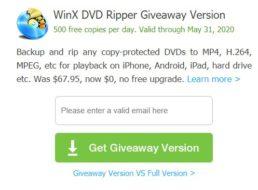 """Exklusiv: """"WinX DVD Ripper Platinum"""" komplett gratis"""