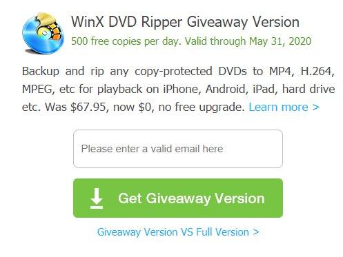 """Exklusiv: """"WinX DVD Ripper Platinum"""" komplett gratis bis Freitag"""