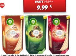 Air Wick: Life Scents Duftkerzen im Dreierpack für 9,99 Euro frei Haus