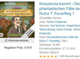 """Gratis: Hörbuch """"die phantastischen Fälle des Rufus T. Feuerflieg"""" bei Audible"""
