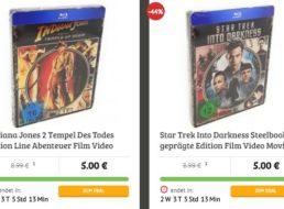Dealclub: Fünf Blu-rays nach Wahl für 28,99 Euro frei Haus