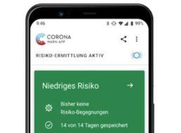 Corona-Warn-App: Download bei Google Play und bei Apple ab sofort möglich