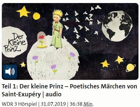 """Gratis: Hörspiel """"Der kleine Prinz"""" beim WDR zum Download"""