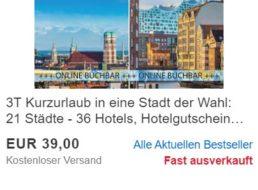 Ebay: 2 Nächte in A&O-Hotels zum Schnäppchenpreis von 35,10 Euro